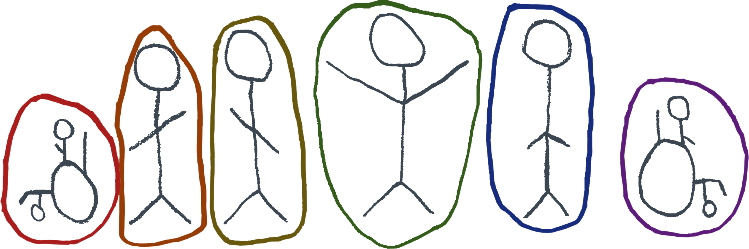 Illustration of people